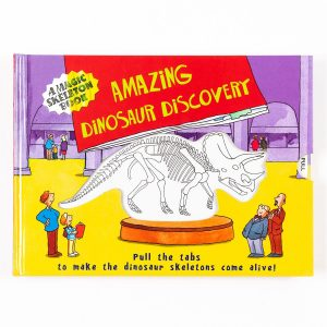 Amazing Dinosaur Discovery Magic Skeleton - Pull The Tab Book