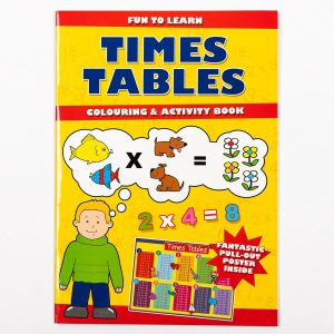 Fun To Learn Times Table Activity Book