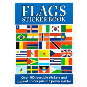 Flags Sticker Book