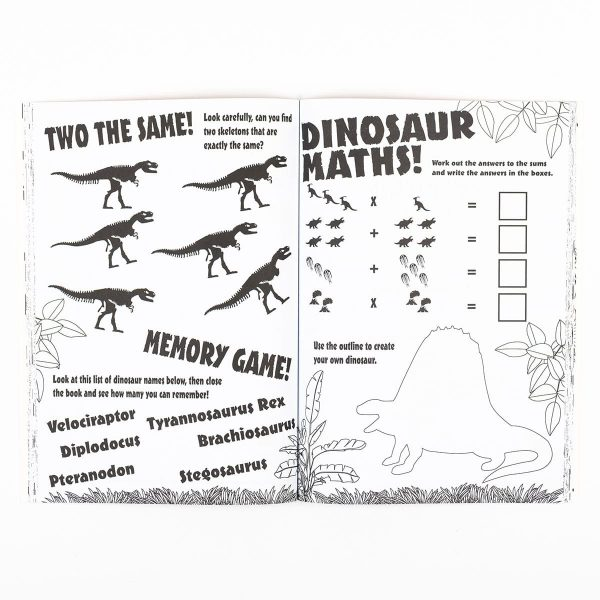 Dinosaur Giant Activity Book