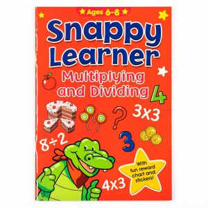 Snappy Learner (6-8) - Multiplying & Dividing