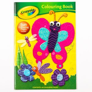 Crayola Colouring Book - Butterfly Cover