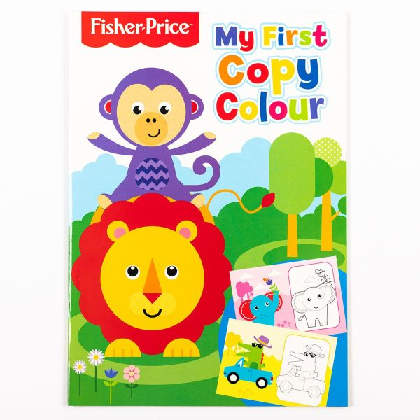 Fisher Price My First Copy Colour Book