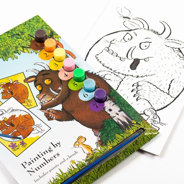 The Gruffalo Painting By Numbers