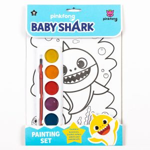 Baby Shark Painting Set