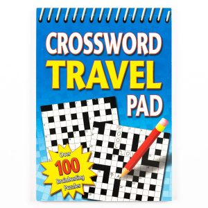 Crossword Travel Pad