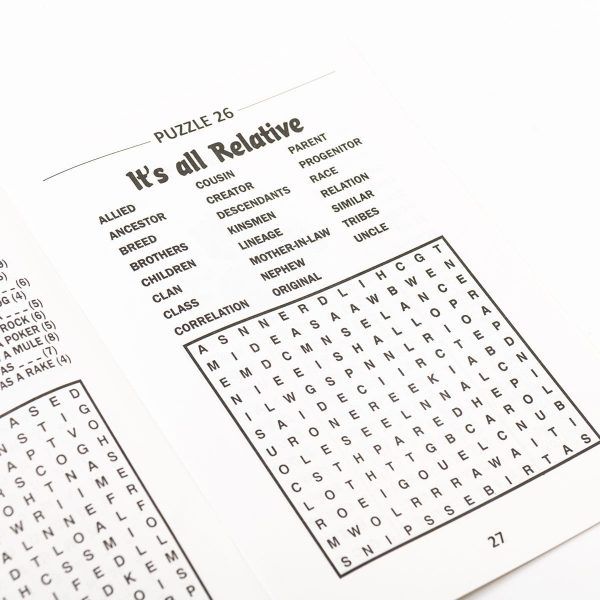 Wordsearch Power Puzzle - Blue
