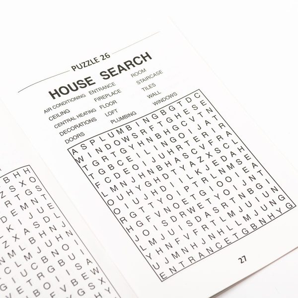 Large Print Wordsearch Book - Blue