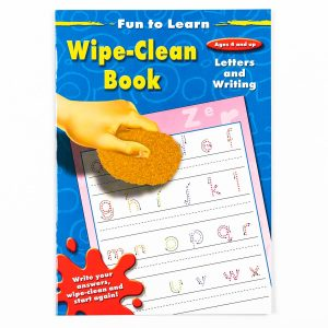 Fun To Learn Letters and Writing Wipe Clean