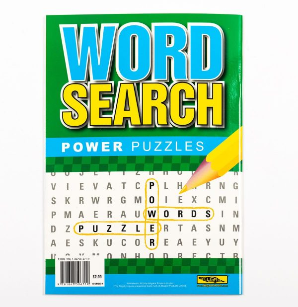 Wordsearch Power Puzzle - Green