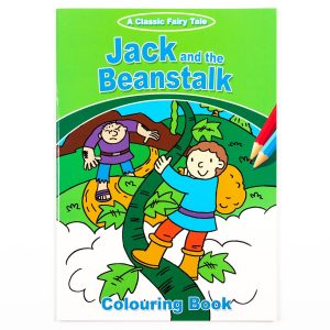 Jack And The Beanstalk Colouring Book