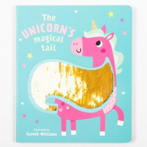 The Unicorn's Magical Tail - Sequins Book