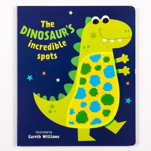 The Dinosaur's Incredible Spots - Sequins Book