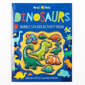 Dinosaurs Bubble Stickers Activity Book