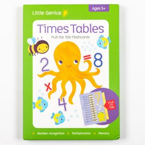 Little Genius Pull the Tab: Times Tables