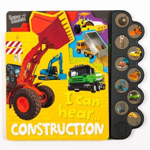 Construction  Sound Book
