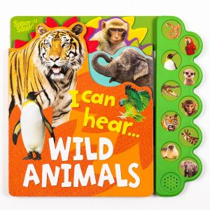 Wild Animals Sound Book