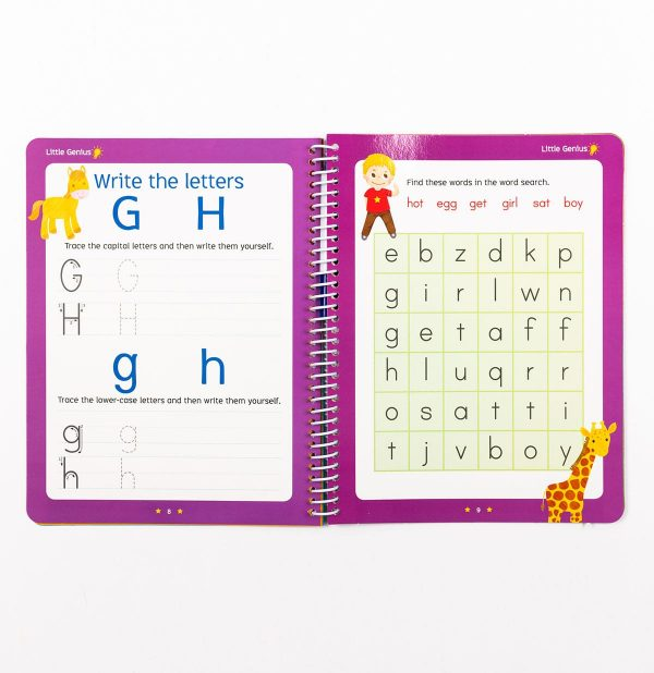 Little Genius Flashcards and Wipe Clean Combo Collection