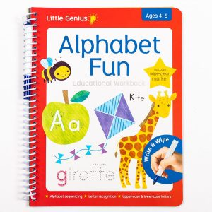 Write & Wipe Alphabet Fun Workbook