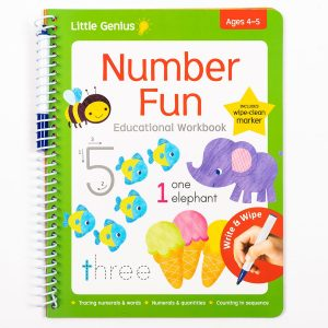 Write & Wipe Number Fun Workbook