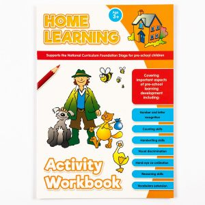 Home Learning Activity Book (Orange)