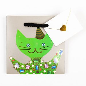 Party Cats Gift Bag - Small *sold as a set*