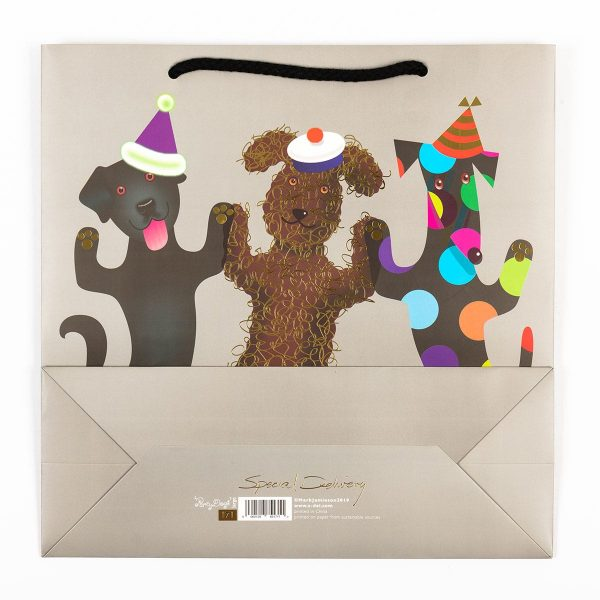 Party Dogs Gift Bag Set - Small, Medium & Large