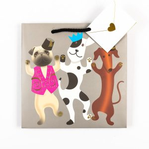 Party Dogs Gift Bag - Medium *sold as a set*