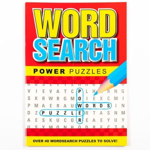 Wordsearch Power Puzzle - Red