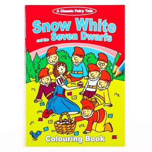 Snow White And The Seven Dwarfs Colouring Book