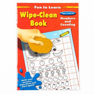 Fun To Learn Numbers and Counting Wipe Clean