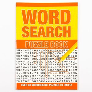 Wordsearch Puzzle Book - Red