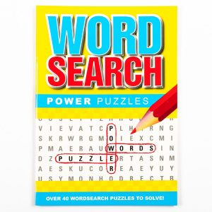 Wordsearch Power Puzzle - Yellow