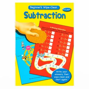 Beginners Maths - Subtraction -  Wipe Clean