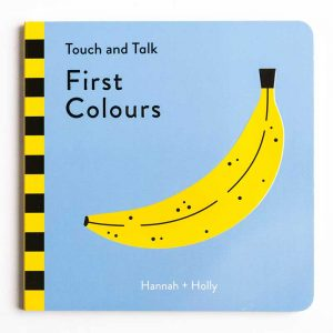 Hannah & Holly: Touch Talk First Colours