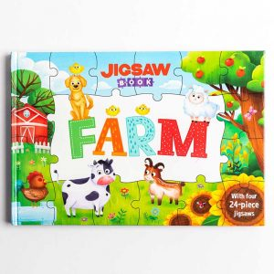 Jigsaw Book: Farm