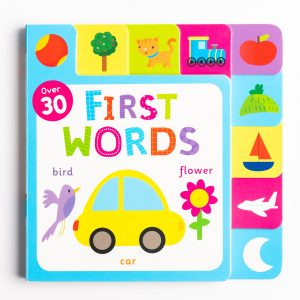 First Words Fun Tabs Play Book