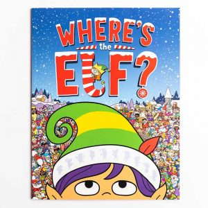 Where's the Elf? Search and Find Book