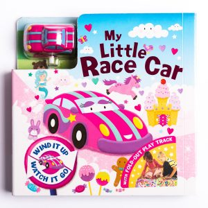 My Little Race Car Board Book