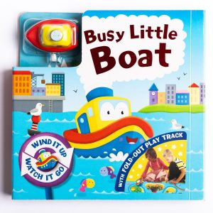 Busy Little Boat Board Book