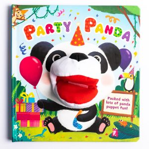 Party Panda Hand Puppet Fun Book