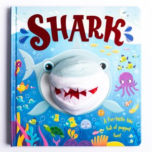 Shark Hand Puppet Fun Book