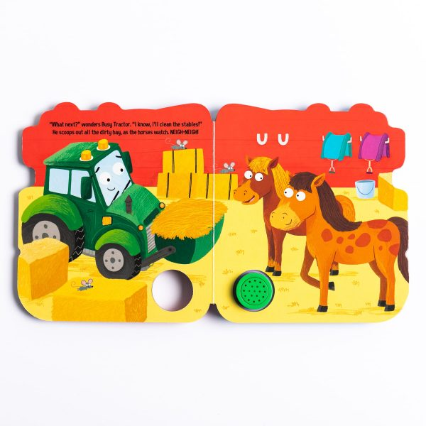 Busy Tractor Sound Book