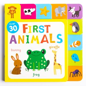 First Animals Fun Tabs Play Book