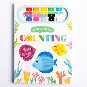 Slide and Match: Counting Track Book