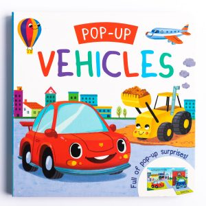 Pop-up Vehicles Board Book